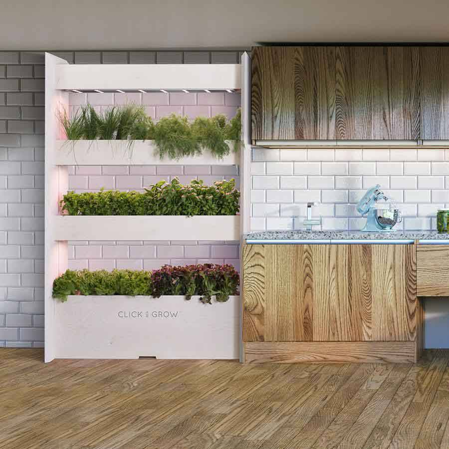 The Click and Grow Wall Farm Indoor Vertical Garden South Africa